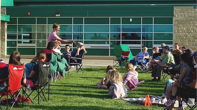 Ben Price - This is a shot from a series of outdoor shows I did last summer! I performed at local school grounds for socially distances families. I also had brilliant musical entertainment from my good friends Rylan Kunkel and Katie Fellger. This is something I hope to do again this year!