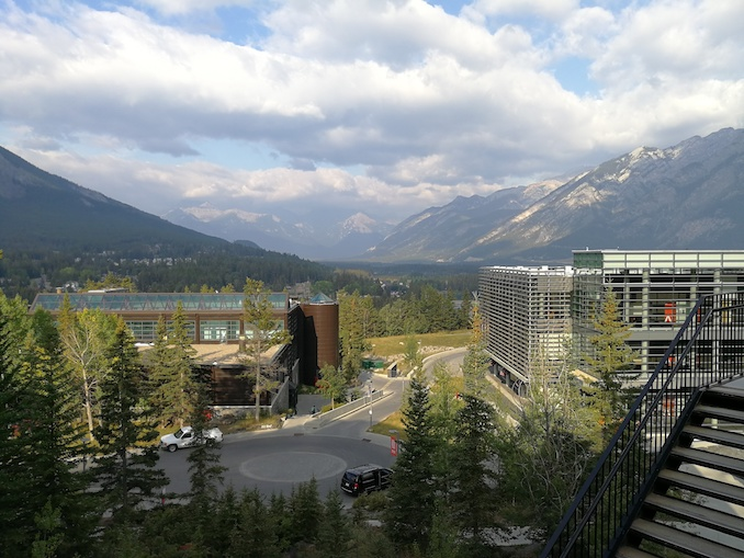 I took this shot of the photogenic Banff Centre in 2018 when Lee Kvern and I were mentors for the Summer Writing Retreat. I was booked in for five nights to do some intense writing at the Banff Centre in March 2020, but then the pandemic came along. I can't wait to get back there.