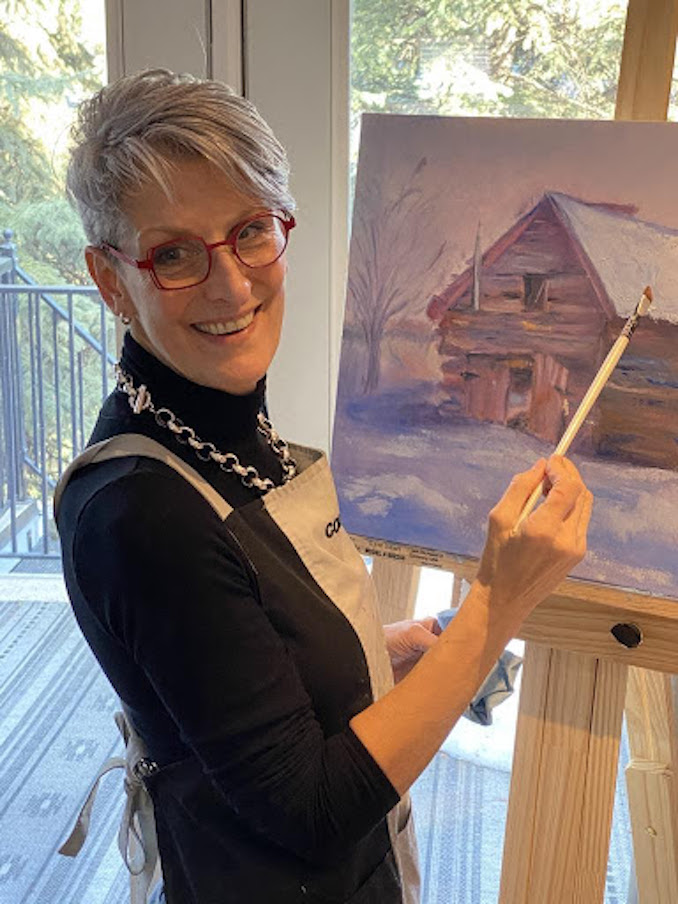 Heather MacPherson - I paint virtually every day, whether I'm in Calgary or the Netherlands. Sometimes I paint to reflect my mood, sometimes to improve my mood, and sometimes just to capture whatever has piqued my interest. I continually experiment with different subjects and approaches, so every project is a learning experience.