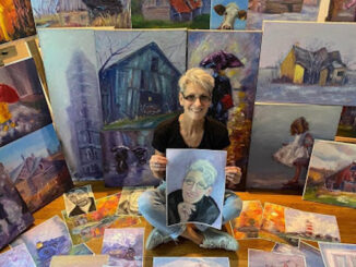 """""""A Day in the Life"""" with painter Heather MacPherson"""