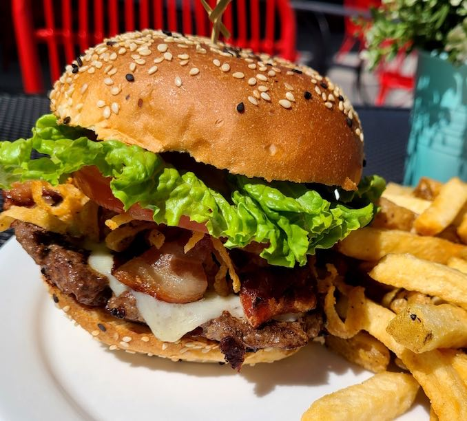 Burger Recipe from Starbelly a gourmet-casual restaurant in Calgary