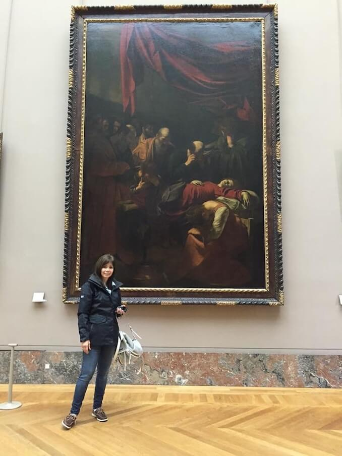 I love to travel and visit museums, studying the techniques of different painters. Seeing an original is the best!