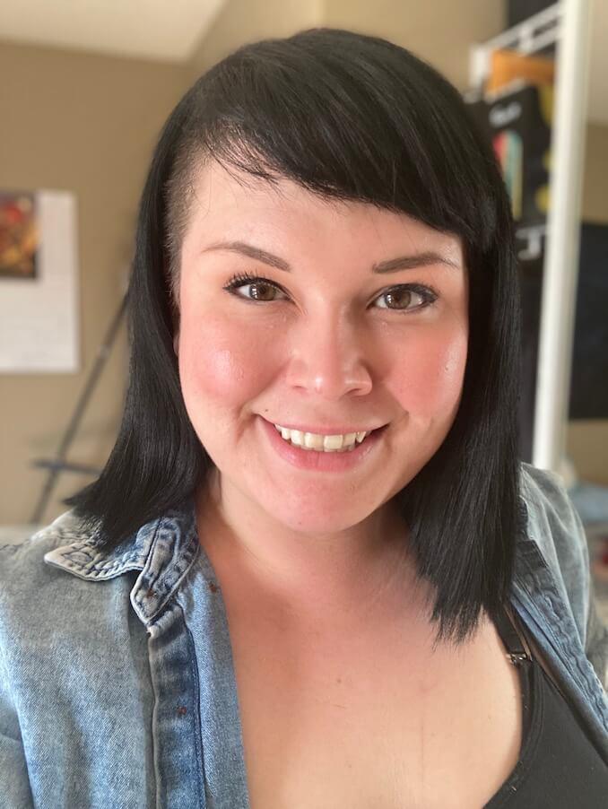 Tamara Eaker, Ojibwe/Cree/Metis Artist, born and raised Calgarian.